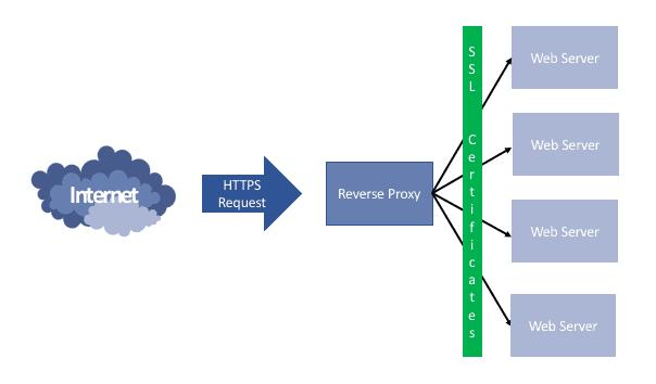 Reverse Proxy Diagram