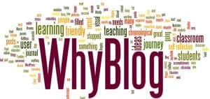 Why Blogging Image