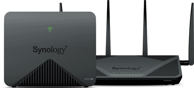 Synology RT2600 + MR2200