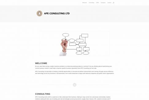 APE Consulting Ltd Home Page
