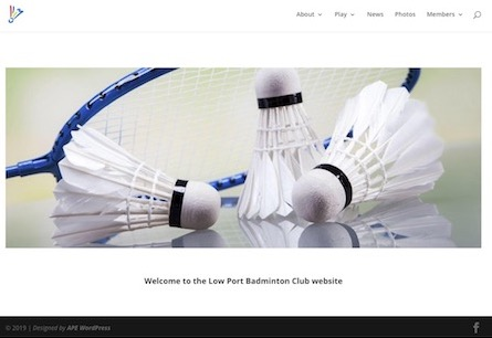 Low Port Badminton Club Home Page